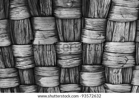 Basket texture background - stock photo