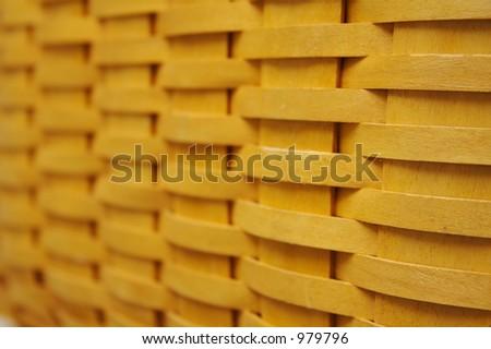 Basket Weave Background - stock photo