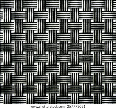 basket weave texture - stock photo
