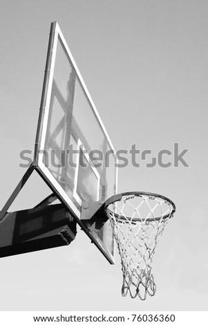 Basketball hook - stock photo