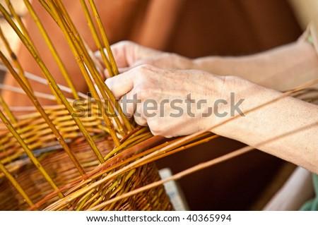 basketry - stock photo