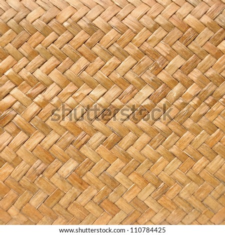 basketwork background or texture - stock photo
