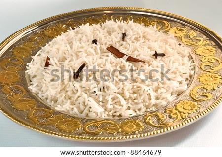 Basmati Rice - stock photo