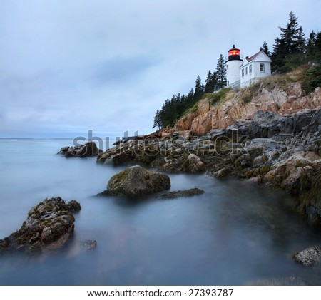 Maine harbor stock images royalty free images vectors for Acadia national park fishing