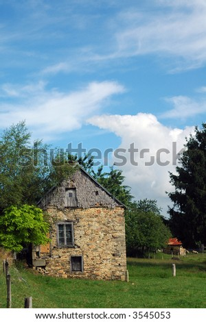 Basse Normandie (France): an old typical country house