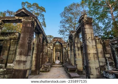 Bateay Kdei temple, Ankor wat Unesco Worls heritage. - stock photo
