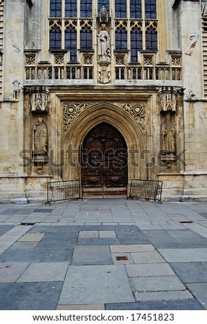 bath abbey doors & Bath Abbey Doors Stock Photo (Download Now) 17451823 - Shutterstock