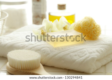 Bath, aroma - stock photo