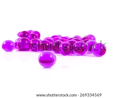 Bath aromatic balls - stock photo