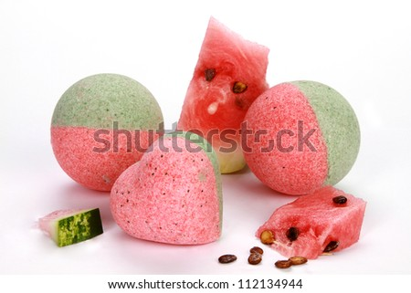 Bath Bombs watermelon