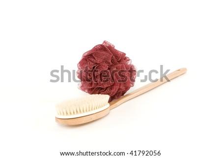 Bath Brush - stock photo