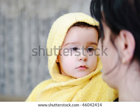 Bath, care - stock photo