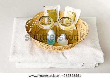 Bath set - stock photo
