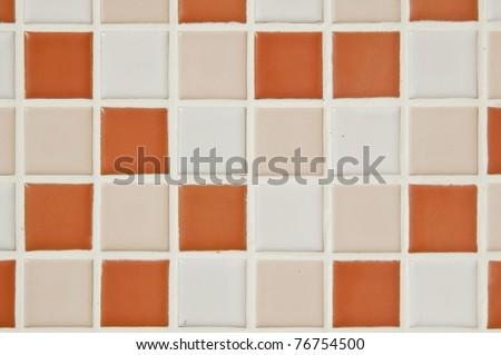 bath tile background - stock photo