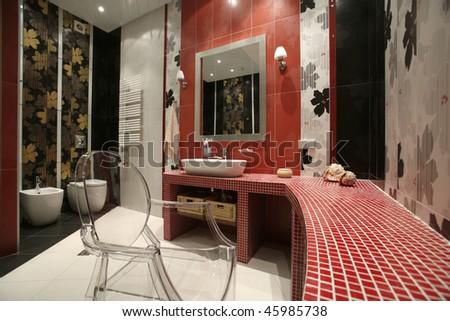 bathroom - stock photo