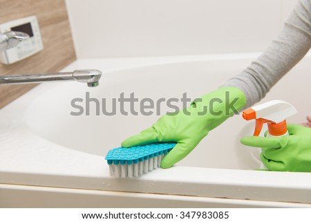 Bathroom, cleaning