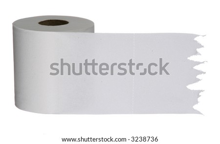Bathroom Tissue-B - stock photo