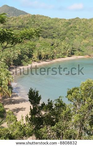 Batibou beach, Dominica - stock photo