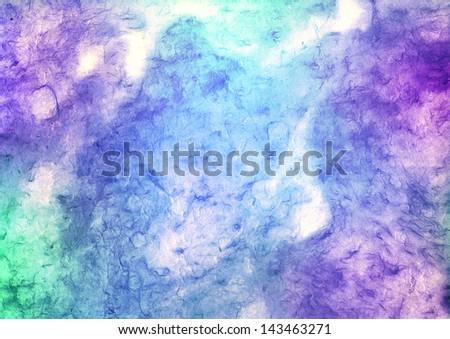 batik paper - stock photo