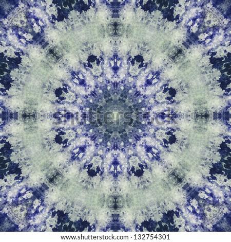 Batik Tie Dye - stock photo