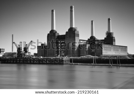 Battersea Power Station - stock photo