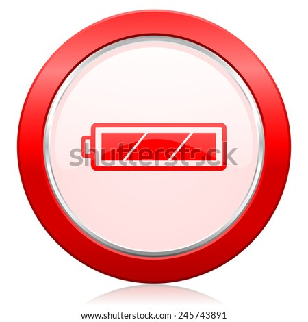 Battery Icon Charging Symbol Power Sign Stock Illustration 245743891