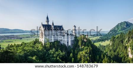 Bavarian Baroque Castle - stock photo