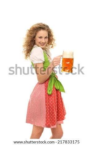 bavarian girl