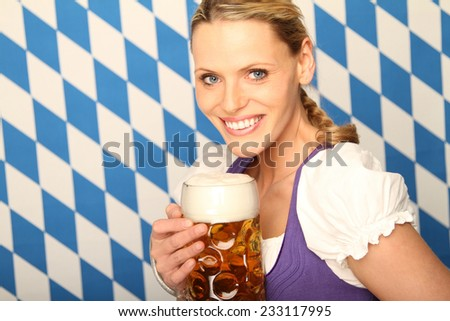 Bavarian Woman with pitcher
