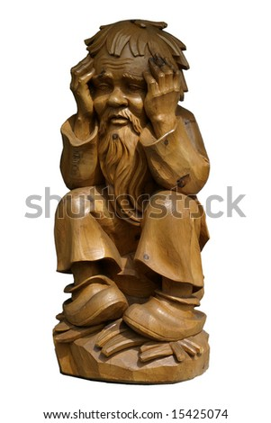 Bavarian woodcarving Germany
