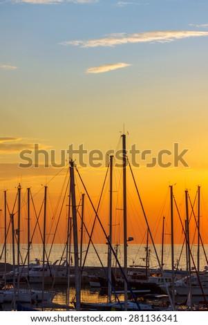 Bay - stock photo