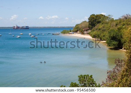 Bay at Tanga in Tanzania
