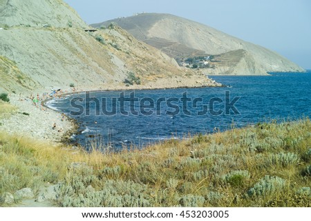 Bay in Ordzhonikidze, Crimea