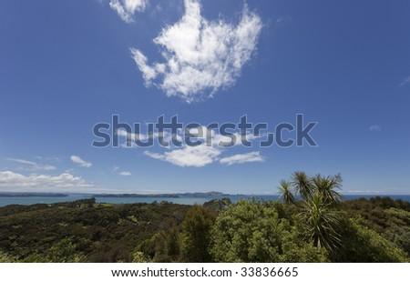Bay of Islands, New Zealand - stock photo