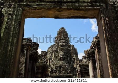 Bayon, Angkor Wat - stock photo