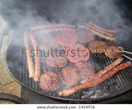 BBQ - Hamburgers