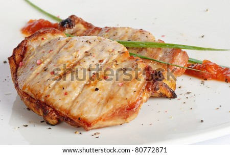 BBQ Meat - stock photo