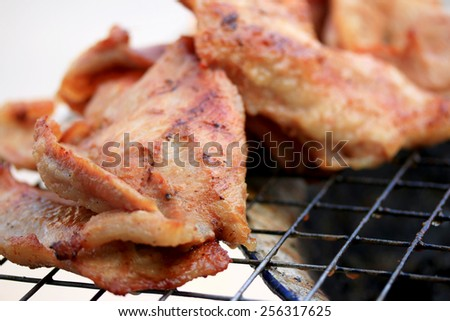 BBQ pork - Style chinese food