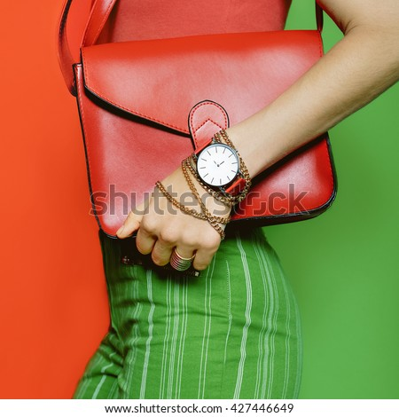 Be bright business Lady. Business stylish Summer. Fashion Accesories.
