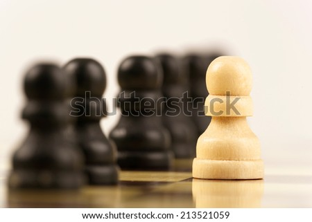 be different on chessboard