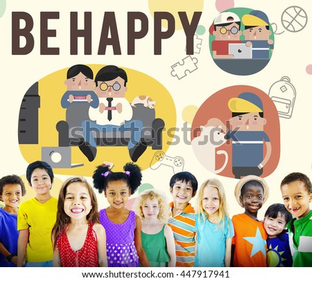 Be Happy Activity Leisure Activity Concept