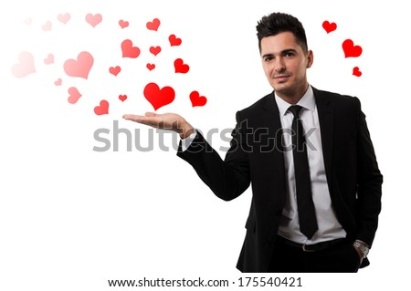 Be mine for the Valentine's Day ! - stock photo