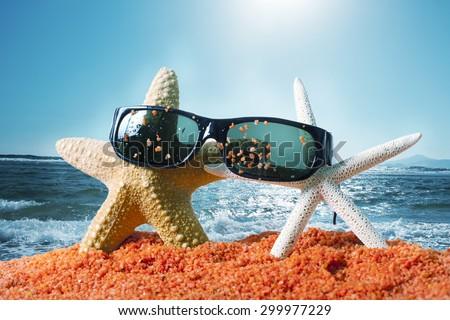 Beach. - stock photo