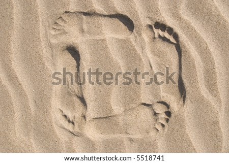 beach - stock photo