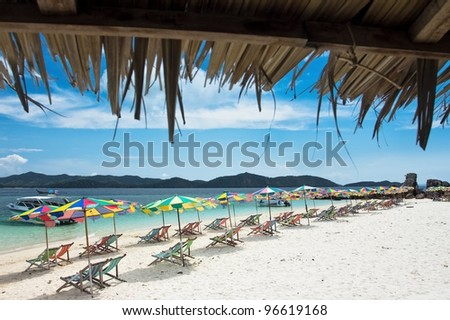 Beach And Tropical Islands in Phuket, Thailand - stock photo