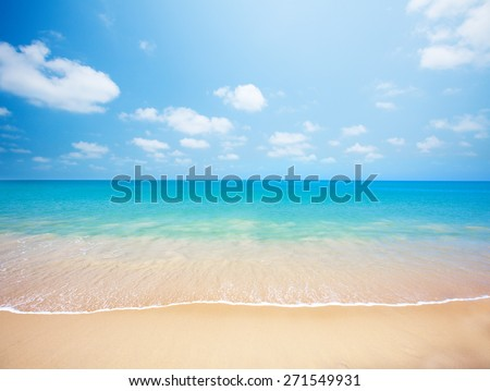 beach tropical seaの写真素材 ロイヤリティフリー 271549931