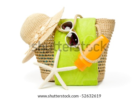 Beach Bag Stock Images, Royalty-Free Images & Vectors | Shutterstock