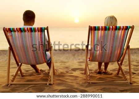 Beach, bar, cocktail. - stock photo