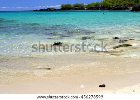 Beach 69,  Big Island, Hawaii - stock photo