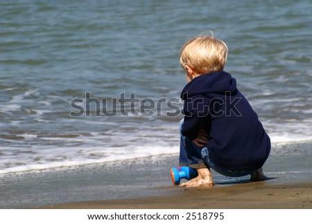 Beach Boy - stock photo